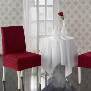 MILANO BORDO Чехлы на стулья со спинкой (2 шт.) бордовые