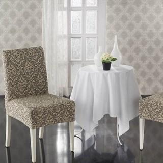 MILANO BEIGE Чехлы на стулья со спинкой (2 шт.) бежевые
