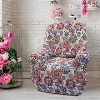СИНГАПУР Чехол на кресло от 70 до 110 см