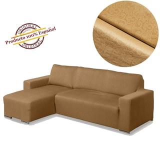 БОСТОН БЕЖ Чехол на угловой диван с выступом слева