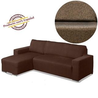 БОСТОН МАРОН Чехол на угловой диван с выступом слева