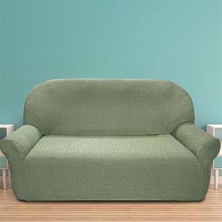 ГАЛАНТ ВЕРДЕ Чехол на 3-х местный диван от 170 до 230 см