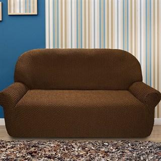 ГАЛАНТ МАРОН Чехол на 2-х местный диван от 120 до 170 см