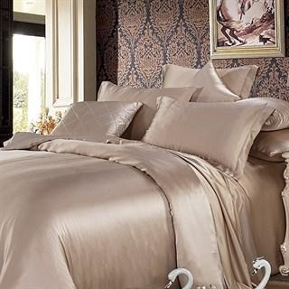 Шелковая простыня на резинке Luxe Dream Шармель 160х200