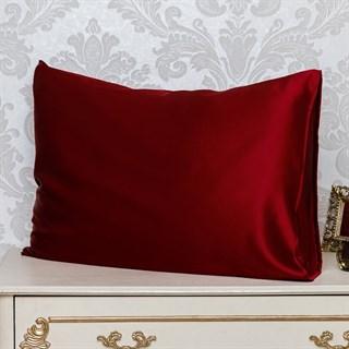 Шелковые наволочки Luxe Dream Бордо 50х70 (2 шт.)