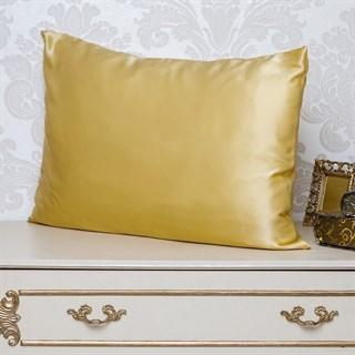 Шелковые наволочки Luxe Dream Золото 50х70 (2 шт.)