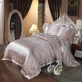 Шелковое постельное белье Флер Exlusive евро