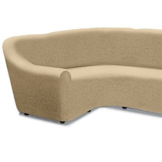 БОСТОН МАРФИЛ Чехол на классический угловой диван от 320 до 480 см левосторонний