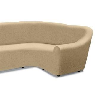 БОСТОН МАРФИЛ Чехол на классический угловой диван от 320 до 480 см правосторонний