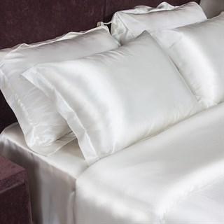 Шелковые наволочки Luxe Dream White Oxford 50х70 (2 шт.)
