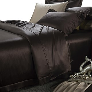 Шелковые наволочки Luxe Dream Шоколад Oxford 50х70 (2 шт.)