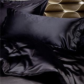 Шелковые наволочки Luxe Dream Black Oxford 50х70 (2 шт.)