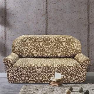 БОГЕМИЯ-М МАРОН Чехол на 3-х местный диван от 170 до 230 см