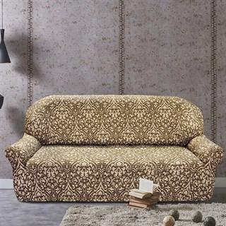 БОГЕМИЯ-М МАРОН Чехол на 4-х местный диван от 230 до 270 см
