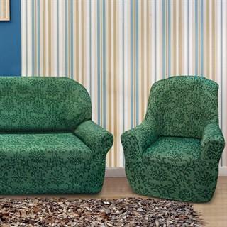БОГЕМИЯ ВЕРДЕ Комплект чехлов на диван и 2 кресла