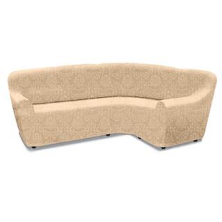 БОГЕМИЯ МАРФИЛ Чехол на классический угловой диван от 370 до 500 см универсальный