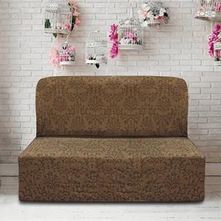БОГЕМИЯ МАРОН Чехол на диван без подлокотников от 160 до 210 см