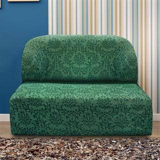 БОГЕМИЯ ВЕРДЕ Чехол на диван без подлокотников от 160 до 210 см