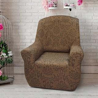 БОГЕМИЯ МАРОН Чехол на кресло от 70 до 110 см