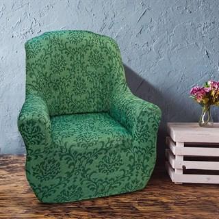 БОГЕМИЯ ВЕРДЕ Чехол на кресло от 70 до 110 см