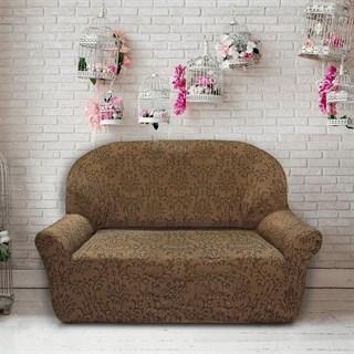 БОГЕМИЯ МАРОН Чехол на 2-х местный диван от 120 до 170 см