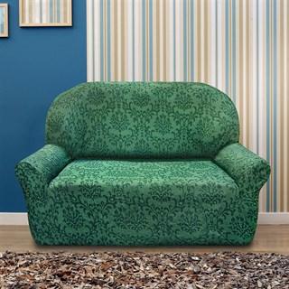 БОГЕМИЯ ВЕРДЕ Чехол на 2-х местный диван от 120 до 170 см