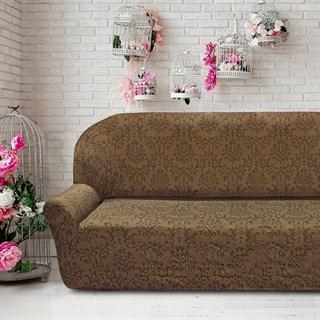 БОГЕМИЯ МАРОН Чехол на 4-х местный диван от 230 до 270 см