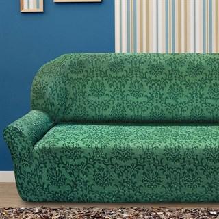 БОГЕМИЯ ВЕРДЕ Чехол на 4-х местный диван от 230 до 270 см