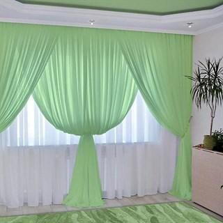 Комплект штор Изабелла фисташковый