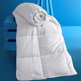 Одеяло Karna Via Stripe MicroGel всесезонное 195х215 см
