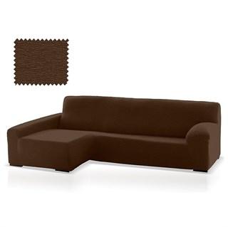 ТЕЙДЕ МАРОН Чехол на угловой диван с оттоманкой и длинным подлокотником слева