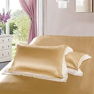 Шелковые наволочки Luxe Dream Плаза Браун 50х70 (2 шт.)