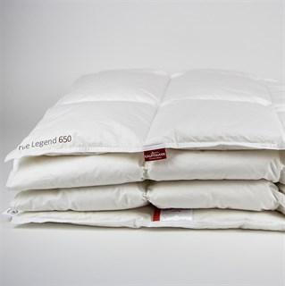Одеяло пуховое Kaufmann True Legend 650 medium 155х200 всесезонное