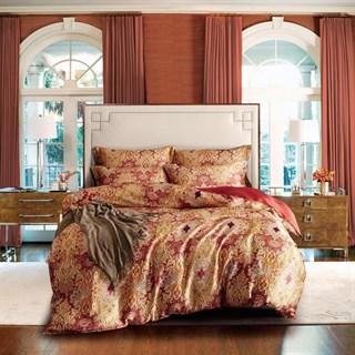 Шелковое постельное белье Люсьенж евро
