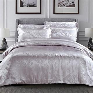 Шелковое постельное белье Жофруа Light евро