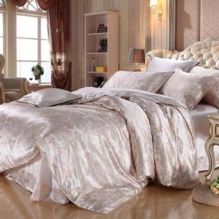 Шелковое постельное белье Моника евромакси