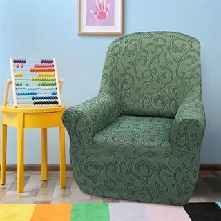 БОСТОН ВЕРДЕ Чехол на кресло от 70 до 110 см