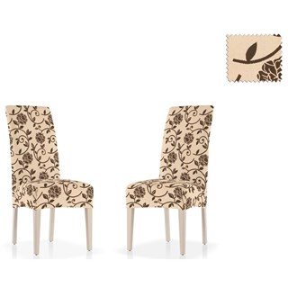 АКАПУЛЬКО БЕЖ Чехлы на стулья со спинкой (2 шт.)