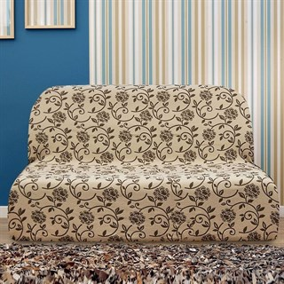 АКАПУЛЬКО БЕЖ Чехол на диван без подлокотников от 160 до 210 см