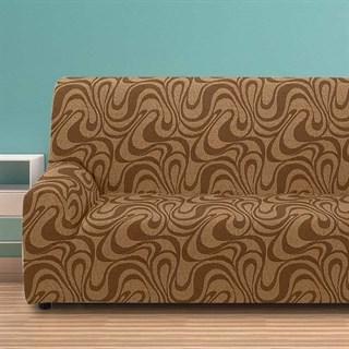 ДАНУБИО МАРОН Чехол на 4-х местный диван от 230 до 270 см