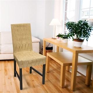 ТОСКАНА БЕЖ Чехлы на стулья со спинкой (2 шт.)