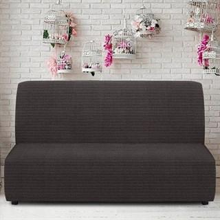 ИБИЦА НЕГРО Чехол на диван без подлокотников от 160 до 210 см