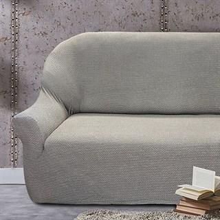 АЛЯСКА ГРИС КЛАРО Чехол на 3-х местный диван от 170 до 230 см