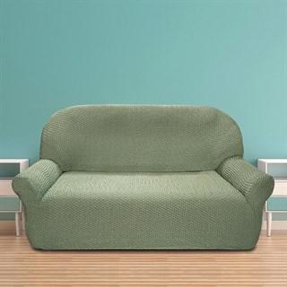 ГАЛАНТ ВЕРДЕ Чехол на 2-х местный диван от 120 до 170 см