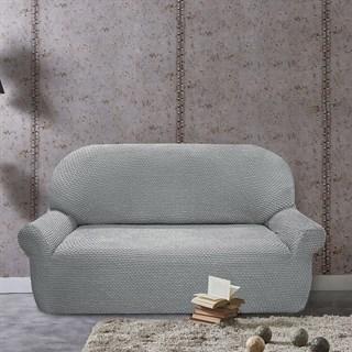 ГАЛАНТ ГРИС КЛАРО Чехол на 2-х местный диван от 120 до 170 см