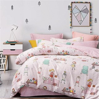 Детское постельное белье Asabella 1091-4XS 1,5-спальное