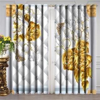 Готовые шторы Золотая роза