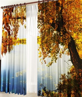 Фотошторы 3D У озера