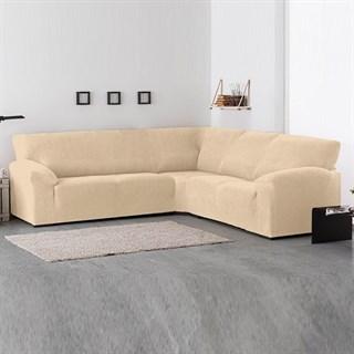АЛЯСКА МАРФИЛ Чехол на классический угловой диван от 270 до 480 см универсальный
