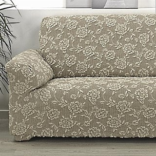 СЕВИЛЬЯ БЕЖ Чехол на кресло от 70 до 110 см